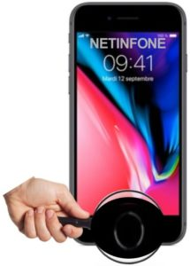 NETINFONE REMPLACEMENT BOUTON HOME IPHONE 8 PLUS (A1864/A1897/A1898)