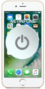 NETINFONE REMPLACEMENT BOUTON POWER IPHONE 6S PLUS (A1634/A1687/A1699)