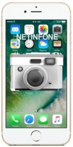 NETINFONE REMPLACEMENT CAMERA ARRIERE IPHONE 6S PLUS (A1634/A1687/A1699)