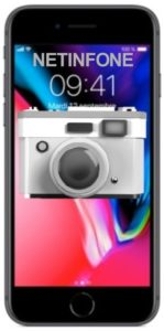 NETINFONE REMPLACEMENT CAMERA ARRIERE IPHONE 8 PLUS (A1864/A1897/A1898)